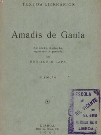 Amadis de Gaula de Rodrigues Lapa