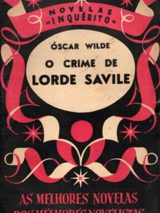 O Crime de Lorde Saville de Oscar Wilde