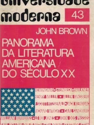 Panorama da Literatura Americana do Século XX de John Brown