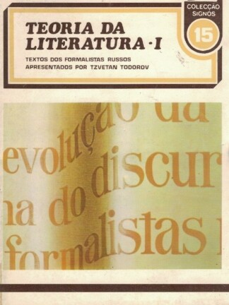 Teoria da Literatura I e II de Tzvetam Todorov