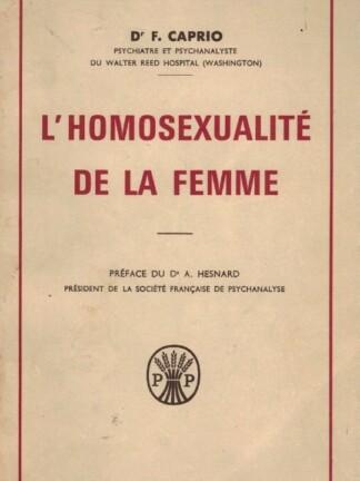 L'Homosexualité de la Femme de Dr. F. Caprio