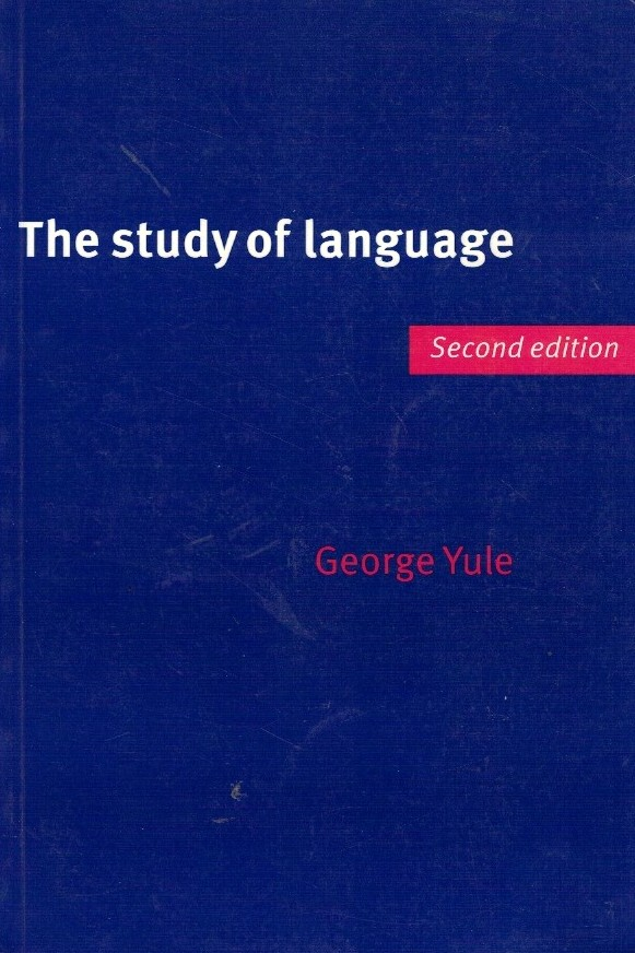 The Study of Language de George Yule