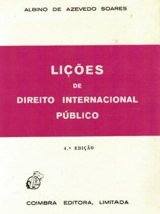 Lições de Direito Internacional Público de Albino de Azevedo Soares