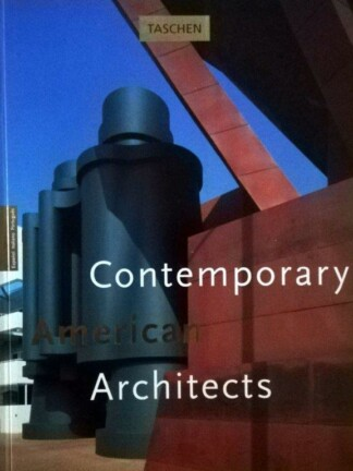 Contemporary American Architects de Philip Jodidio