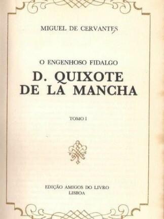 D. Quixote de La Mancha de Miguel de Cervantes