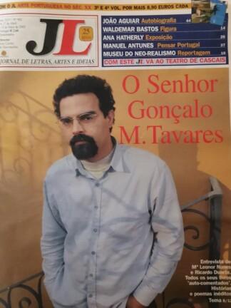 O Senhor Gonçalo M. Tavares de Jornal de Letras