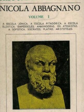 História da Filosofia I de Nicola Abbagnano