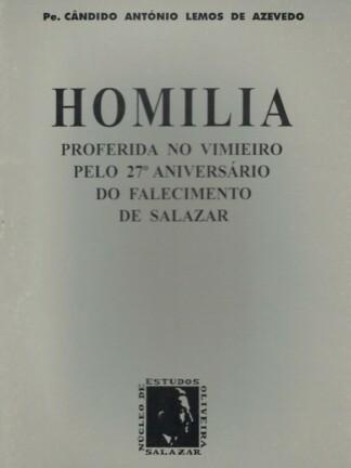 Homilia de Cândido António Lemos de Azevedo