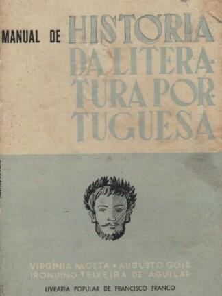Manual de História da Literatura Portuguesa de Virgínia Motta