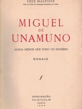 Miguel de Unamuno de Cruz Malpique