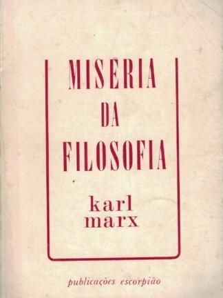 Miséria da Filosofia de Karl Marx
