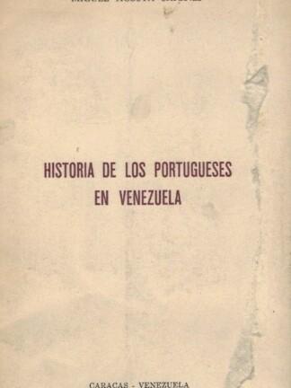 História de los Portugueses en Venezuela de Miguel Acosta Saignes