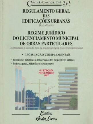 Regulamento Geral das Edificações Urbanas de Rei dos Livros