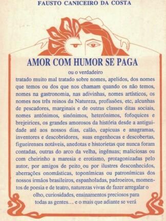 Amor com Humor se Paga de Fausto Caniceiro da Costa