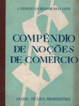 Compêndio de Noções de Comércio de A. Filomeno Lourenço de Sousa Leite
