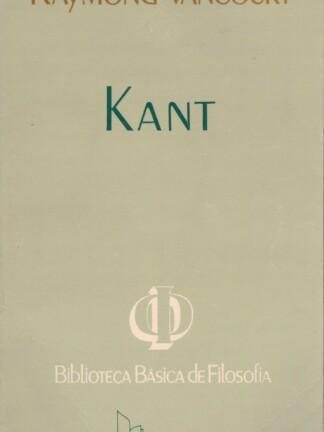 Kant de Raymond Vancourt
