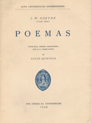 Poemas de J. W. Goethe