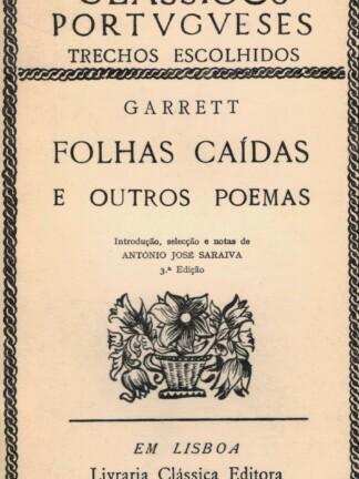 Folhas Caídas e Outras Poemas de Almeida Garrett