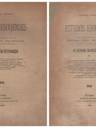 As Vesperas da Restauração de Gabriel Pereira