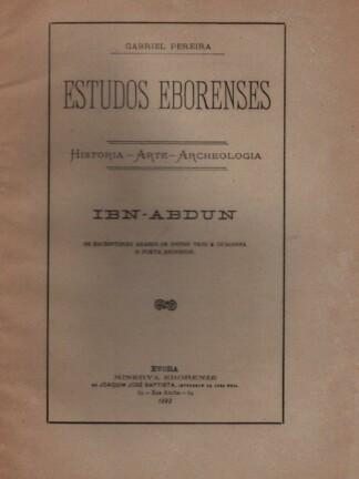 Ibn Abdun de Gabriel Pereira