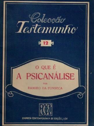 O Que é a Psicanálise de Ramiro da Fonseca