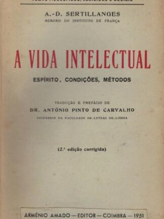 A Vida Intelectual de A. D. Sertillanges