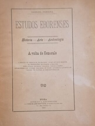 À Volta de Cenáculo de Gabriel Pereira