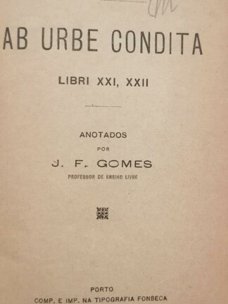 Ab Urbe Condita de Tito Lívio