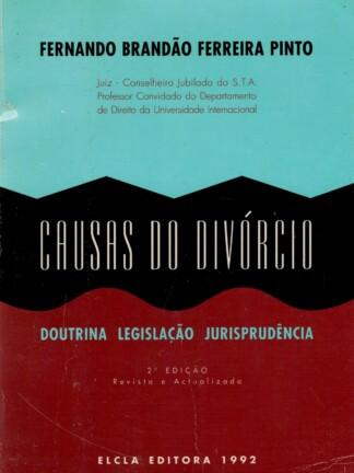 Causas do Divórcio de Fernando Brandão Ferreira Pinto
