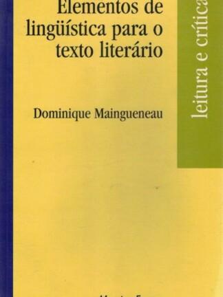 Elementos de Linguistica para o Texto Literário