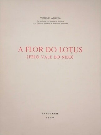 A Flor do Lotus de Virgílio Arruda