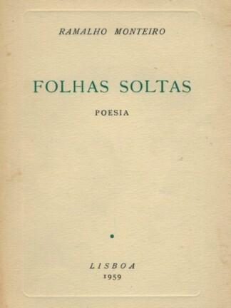Folhas soltas de Ramalho Monteiro