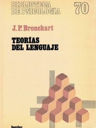 Teorías del Lenguaje de J. P. Bronckart