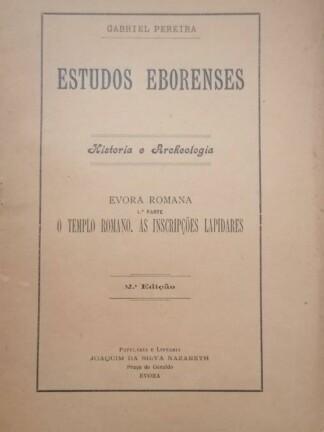 Evora Romana de Gabriel Pereira