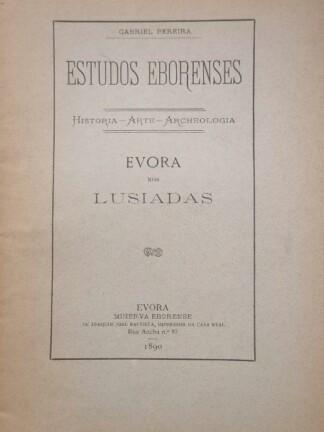 Evora nos Lusíadas de Gabriel Pereira