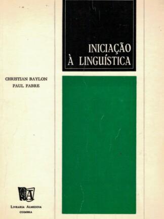 Iniciação à Linguística de Christian Baylon